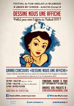 """Festival du film anglais et irlandais d'Ajaccio : """"Dessine nous une affiche"""""""