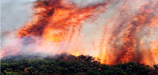 Incendie en début de soirée à Santa Reparata di Balagna