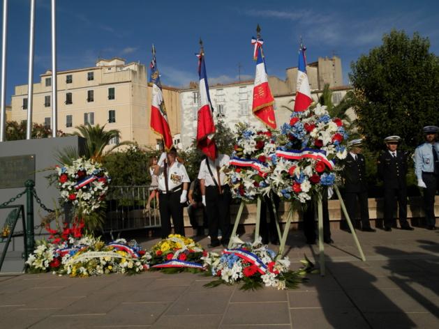 Ajaccio : Hommage à De Gaulle et aux Résistants