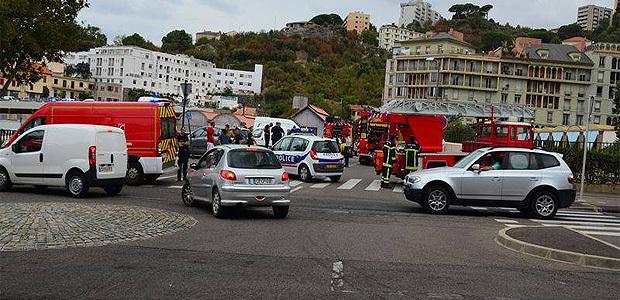 Bastia : Alerte à la bombe au Fango, le  Cézanne évacué