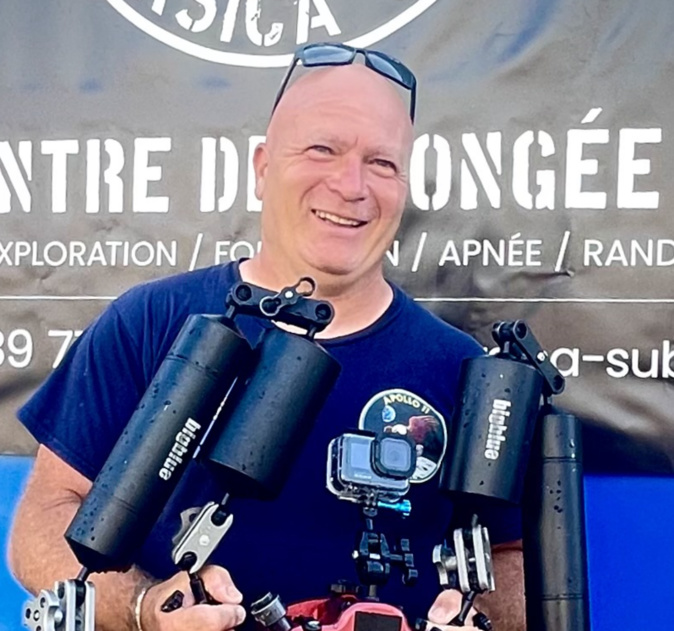 Le Bastiais Tony Viacara en lice au championnat de France de photo sous-marines