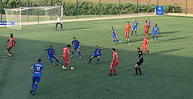 Le FC Bastia-Borgo s'incline à Sedan