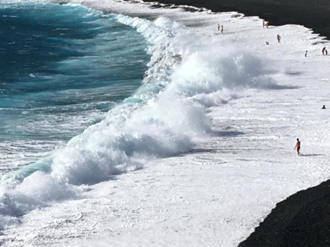 Quand la mer se fâche, plage d Albu (Laurence Morganti)