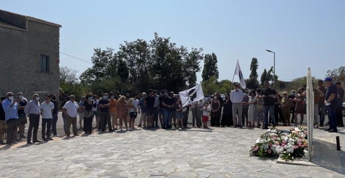 L'Associu Aleria 75 et les élus et militants de Femu a Corsica ont commémoré les évènements d'Aleria qui se sont déroulés les 21 et 22 août 1975.