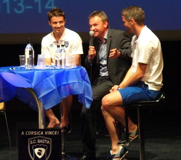 """Le SC Bastia a présenté son projet """" A Corsica vince"""""""