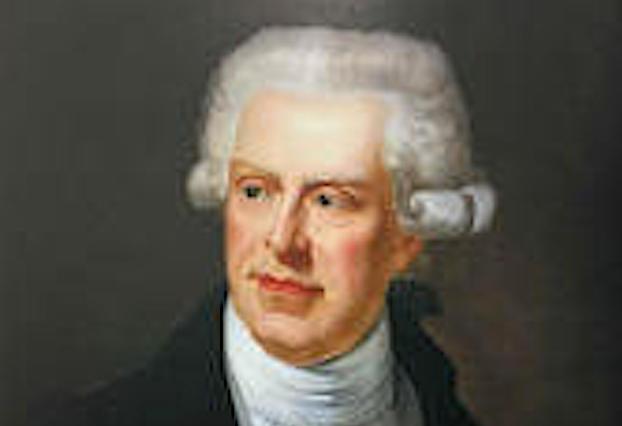 Portrait de Pasquale Paoli réalisé en 1820 par le peintre Joseph Chabord