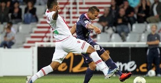 Ligue 1 : L'ACA se réveille trop tard face à Evian