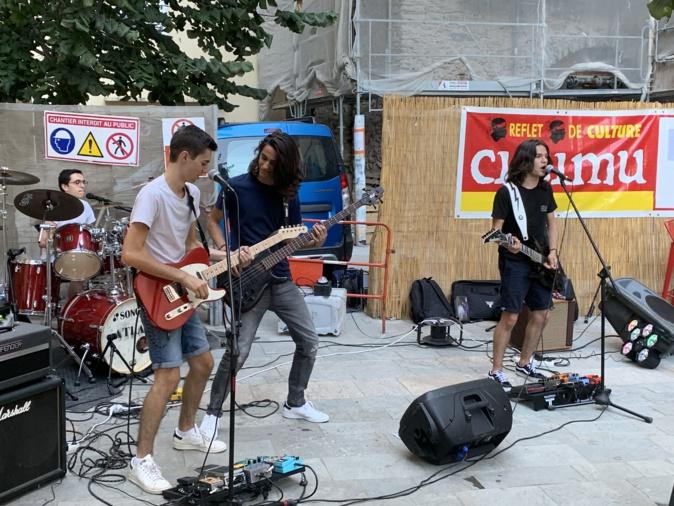 "Musique : à Bastia, ""Atlas"" joue la carte rock n'roll"