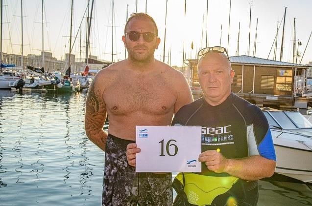 Franck et Tony qui portaient le dossard n°16, ont obtenu une belle 11ème place pour leur première participation.
