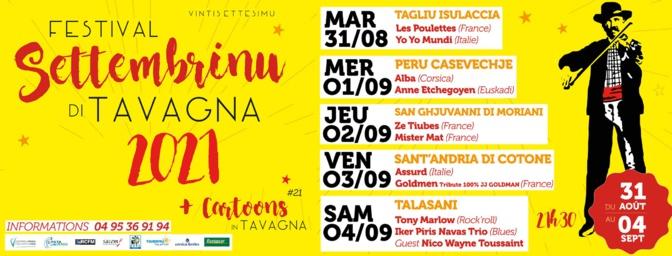 27ème édition de Settembrinu di Tavagna : 5 soirées, 5 balades musicales de village en village