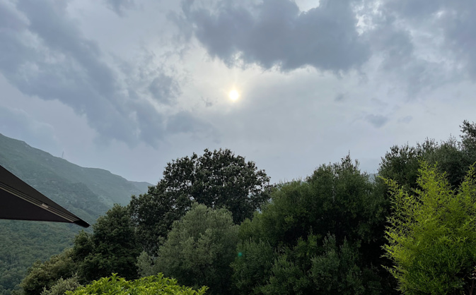 Météo de la semaine en Corse : toujours du soleil puis les orages