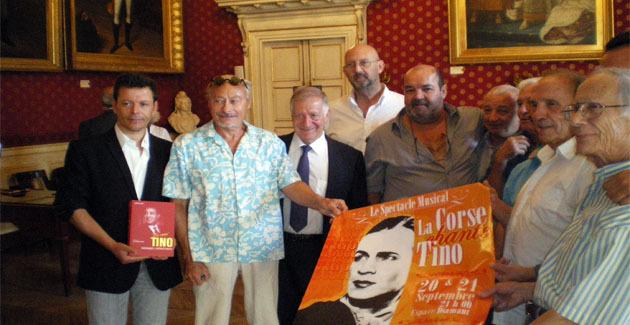 30ième anniversaire de la mort de Tino Rossi : Ajaccio se souvient…