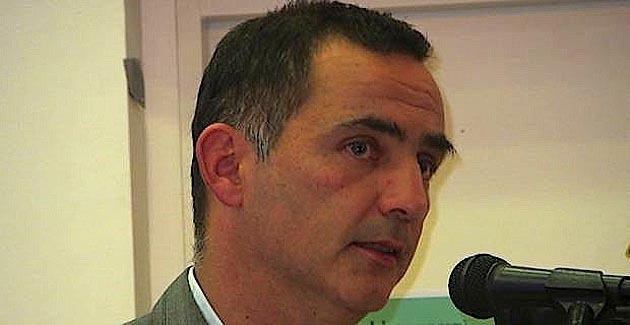 Gilles Simeoni, conseiller territorial de Femu a Corsica, conseiller municpal et leader d'Inseme per Bastia.