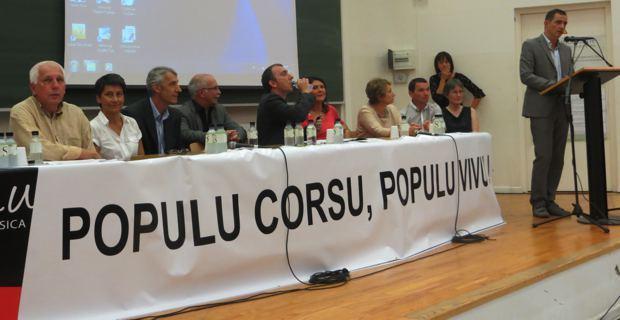 Les élus de Femu a Corsica