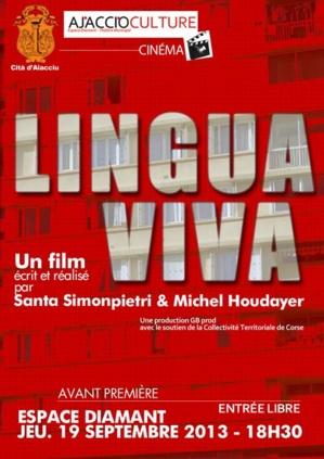 """Ajaccio : """"Lingua Viva"""", jeudi, à l'espace Diamant"""