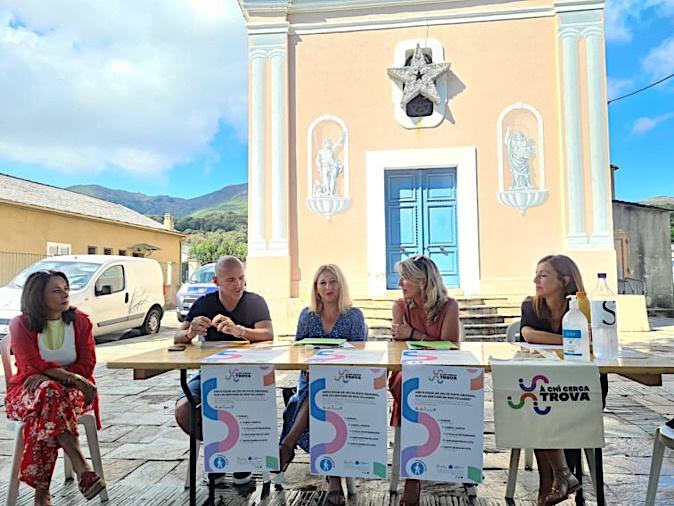 Le jeu de piste À chì cerca trova débutera sur cette même place du village de Furiani ce dimanche 5 septembre à 9 heures 30. (Photo Pierre-Manuel Pescetti)