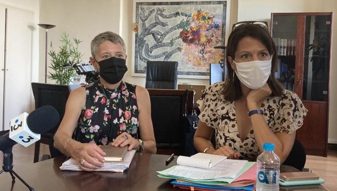 La directrice de l'ARS et la rectrice de Corse ont annoncé le lancement d'une campagne de vaccination à destination des adolescents. (Photo Julia Sereni)