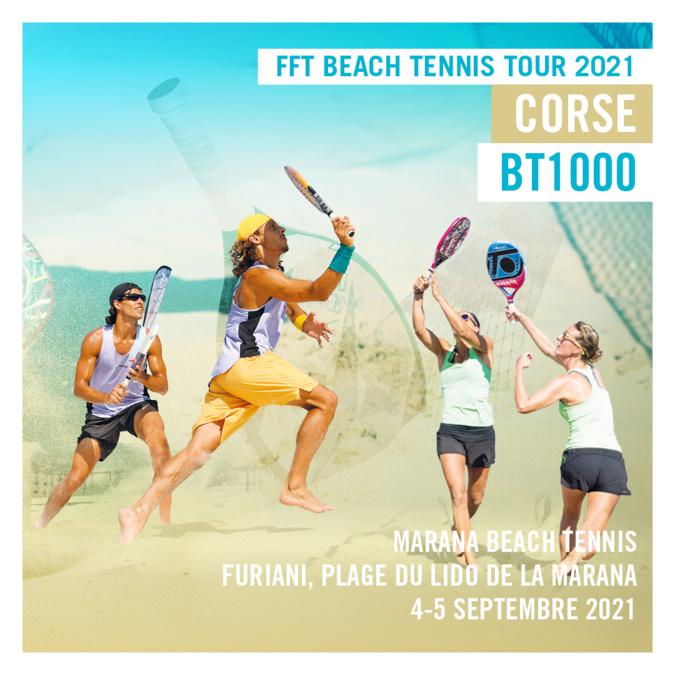 Le France Beach Tennis Tour 2021 fait étape à Furiani