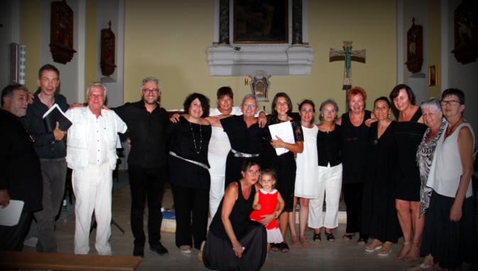 Santa-Maria-di-Lota : belle soirée de clôture pour le stage de chant polyphonique dirigé par Sylvia Micaelli