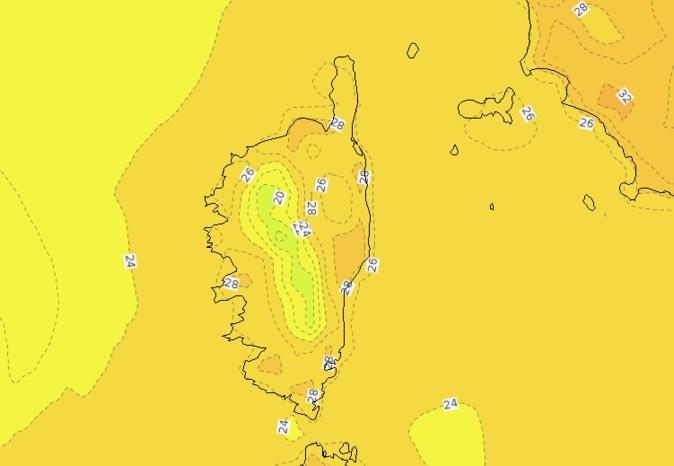 De belles températures, pour un mois de septembre, attendues jusqu'à mercredi.