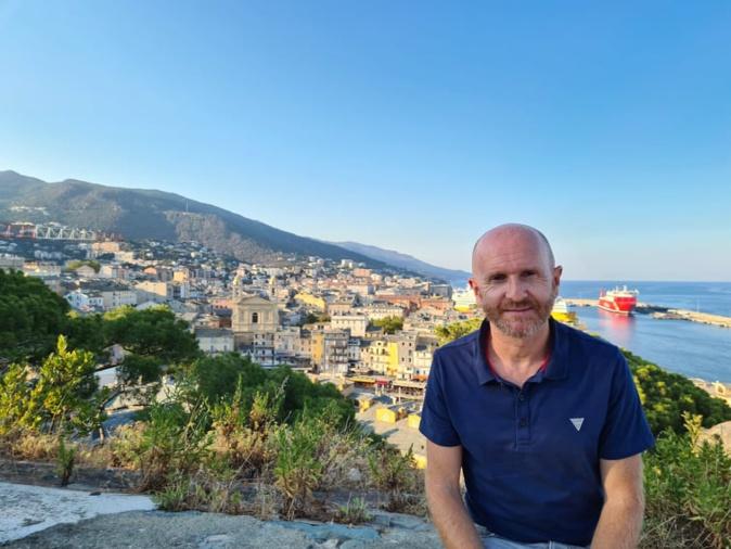 Sylvain Gregori, directeur du musée de Bastia détaille les combats qui ont permis à Bastia de se libérer de l'occupation nazie. Crédits Photo : Pierre-Manuel Pescetti