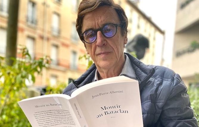 """Jean-Pierre Albertini a écrit """"Mourir au Bataclan"""", en mémoire de son fils Stéphane, assassiné lors des attentats du 13 novembre 2015. Photo : JPA"""
