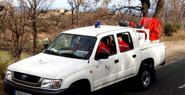 Les réservistes communaux de Speloncato en mission de surveillance et de dissuasion.