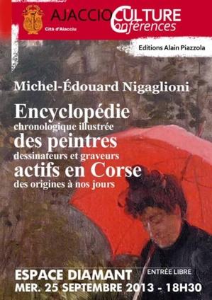 Encyclopédie des Peintres Actifs en Corse présentée à l'Espace Diamant
