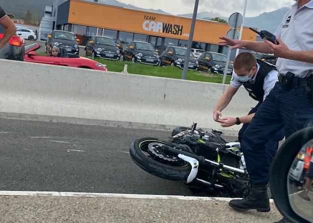 Deux motards blessés dans deux accidents en Haute-Corse
