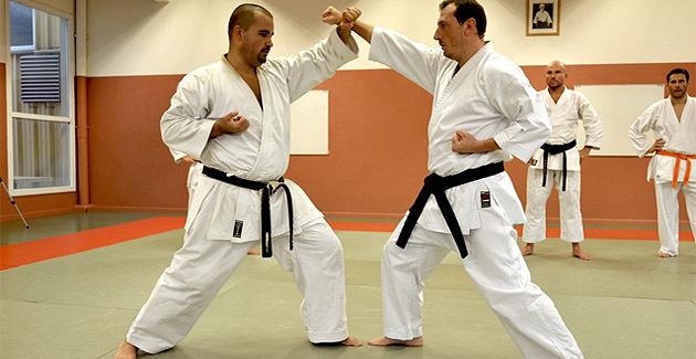 Jean-Noël Andreotti et Saveriu Giamarchi, technique de défense.