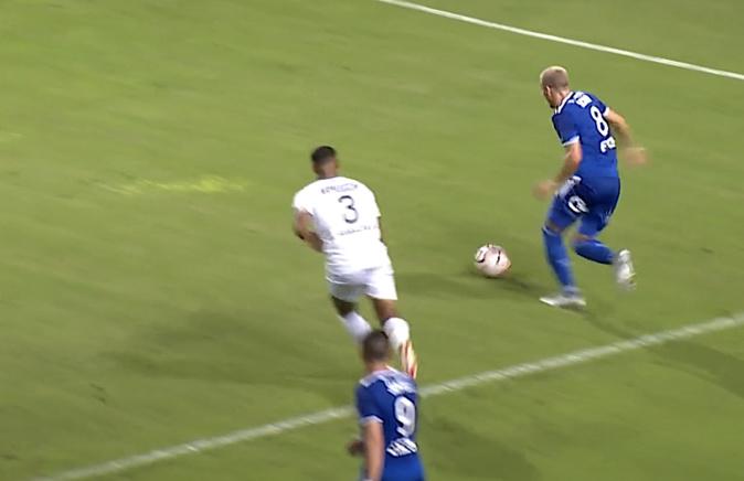 Ligue 2 : Le Sporting se fait rejoindre à la 90ème minute par Caen (1-1)
