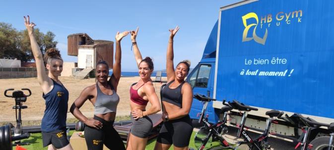 Ines, Marie, Solenne et Morgane, les 4 coachs