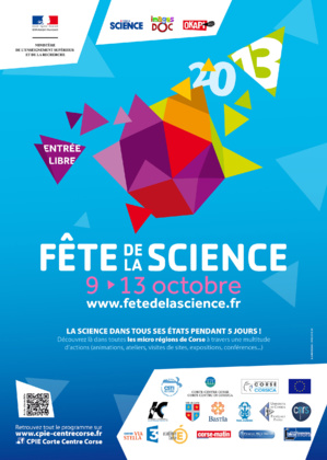 "La ""Fête de la Science"" du 9 au 13 Octobre"
