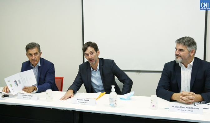 Julien Paolini, Alexis Milano et Jean-Marc Ambrosiani