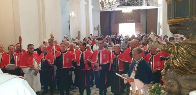 Photo : confrérie de Speluncatu, Sant Antone Abbatte.