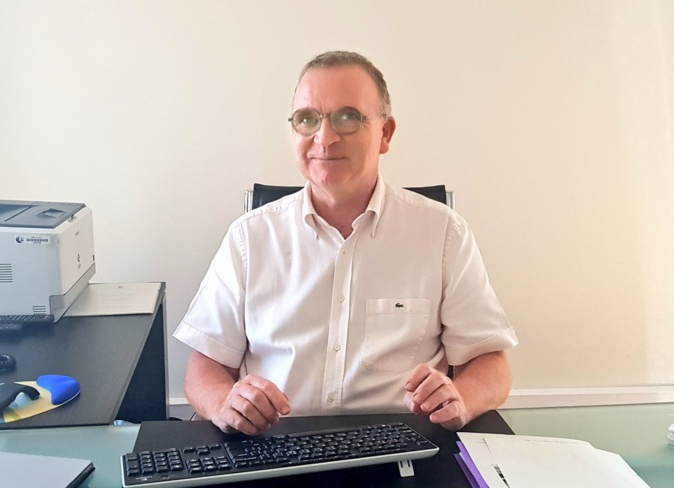 Le directeur de Pôle Emploi Corse, Christian Sanfilippo