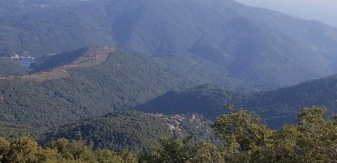La photo du jour : depuis  la pointe de Cuciurpula