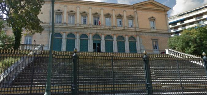 Le palais de justice de Bastia - archives CNI