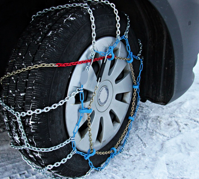 Photo Illustration d'un pneu neige