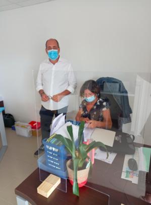 Didier Lorenzini, élu en charge du volet social de la ville et vice-président du CCAS