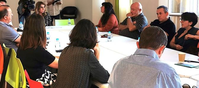 Angèle Bastiani, présidente de l'ATC, en Balagne: «Il est important d'aller à la rencontre des acteurs du tourisme»