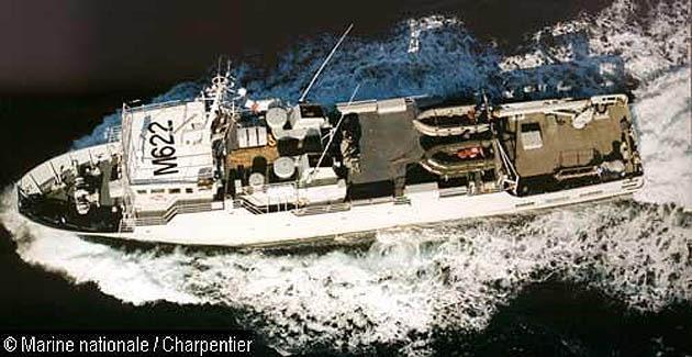 Pollution maritime au large des côtes corses