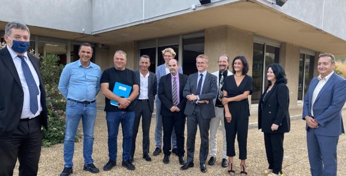 Le premier comité départemental de sortie de crise s'est réuni à la préfecture de Haute-Corse.