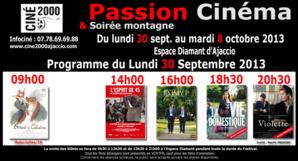 Ajaccio : Passion Cinéma à l'Espace Diamant dès lundi