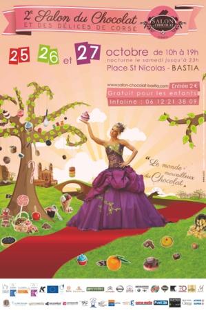 Salon du chocolat de Corse : Les 25, 26 et 27 Octobre à Bastia