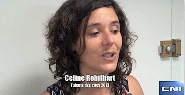 Talents des cités 2013 : Le prix national pour Céline Robilliart