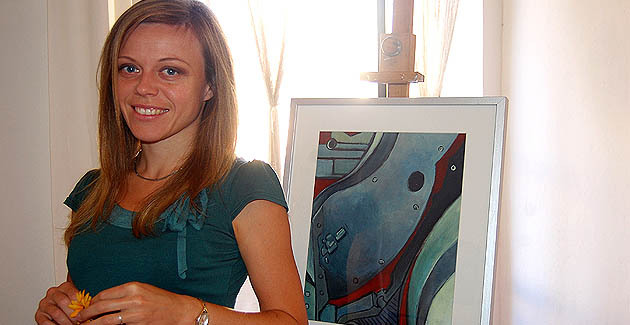 Izabella Belcarz expose à L'Ile-Rousse