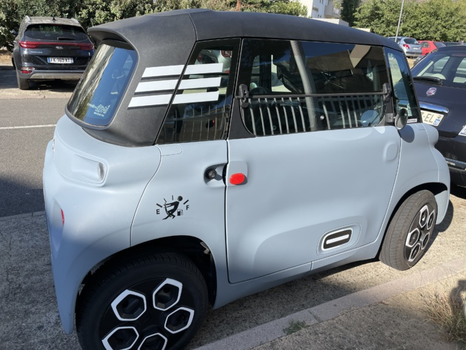 Une voiture sans permis nouvelle génération