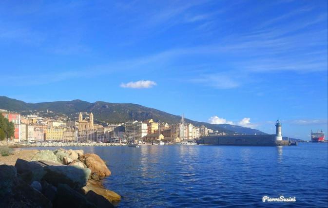 La photo du jour : regard panoramique sur Bastia