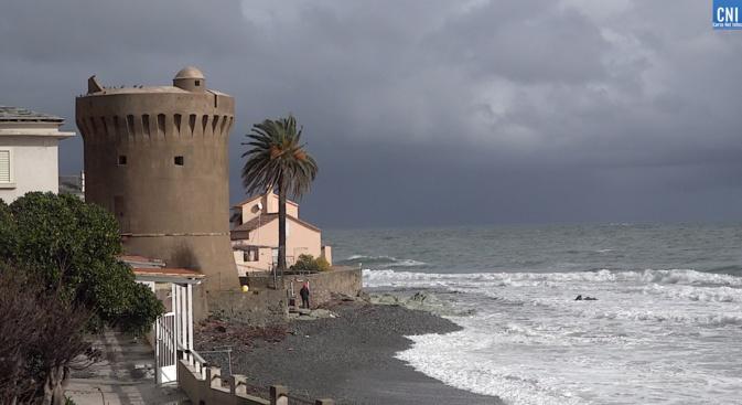 La tour, rénovée, de Miomu sur le grand itinéraire tyrrhénnien Gritaccess (Photo CNI)